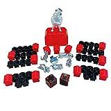 Monopoly Hasbro 765E9972000 - Parker Zubehör Set mit Spielfiguren, schwarzen Häusern, roten Hotels und 1 Paar Würfel
