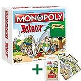 Winning Moves Monopoly Asterix und Obelix Limitierte Collector's Edition + Top Trumps Quartett