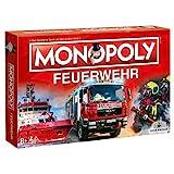 Café Viereck ® Monopoly Feuerwehr - das Gesellschaftsspiel für jeden Feuerwehrmann, Familienspiel für Kinder & Erwachsene