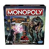 Monopoly: Jurassic Park Edition Brettspiel für Kinder ab 8 Jahren
