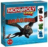 Monopoly Junior Dragons Collectors Edition - werde der beste Drachentrainer von Berk - Für Kinder ab 5 Jahren
