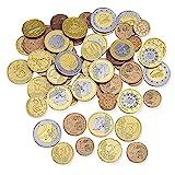 Learning Resources LSP0026-EUR Spielgeldset Euro-Münzen (Set mit 100 Stück)