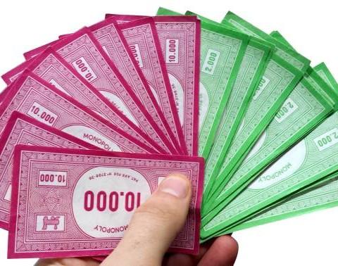 Monopoly Startgeld Geldverteilung