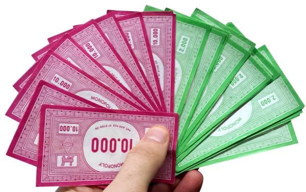 Monopoly Euro Geldverteilung